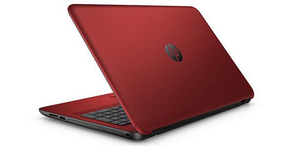 Ordenador portátil HP 15-AC151NS rojo