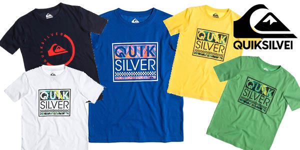 quiksilver classic tee youth camisetas infantiles colores baratas
