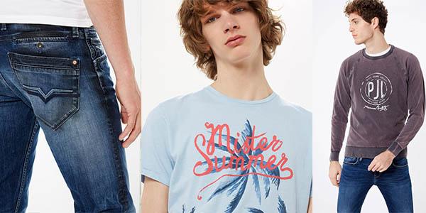 rebajas ropa para hombre pepe jeans verano 2016