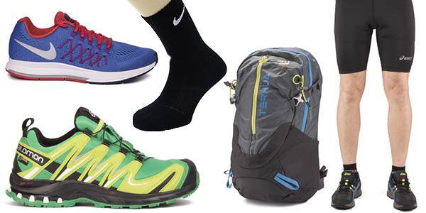 ropa calzado running trekking descuentos maspormenos