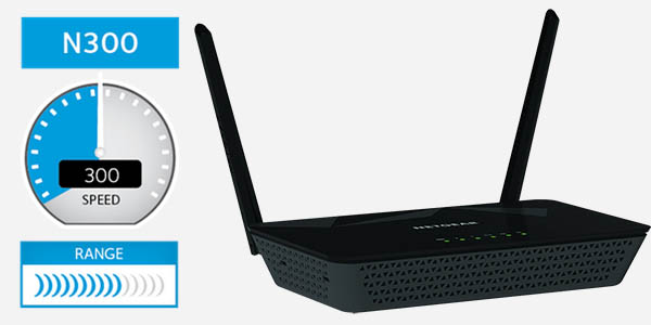 Router Netgear D1500-100PES barato