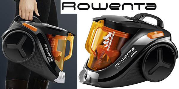rowenta compact power cyclonic aspirador funcional