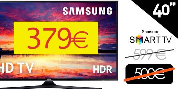 "Smart TV Samsung UE40KU6000K 40"" 4K Ultra HD"