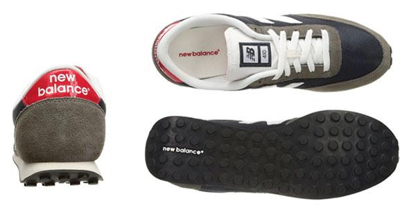 Zapatillas New Balance marrón y azul para hombre baratas en Amazon