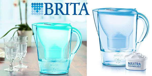 brita marella jarra con filtro para agua 2,4 litros capacidad barata