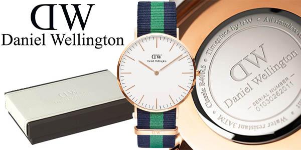 daniel wellington 0105DW reloj de pulsera cuarzo barato
