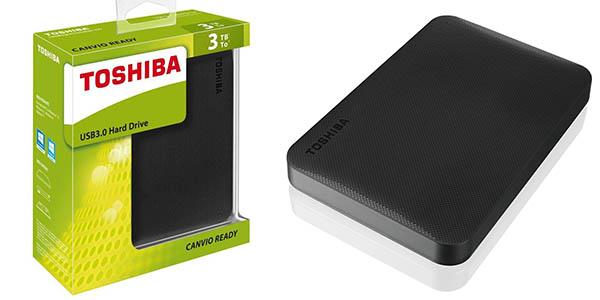 Toshiba Canvio Ready de 3TB barato