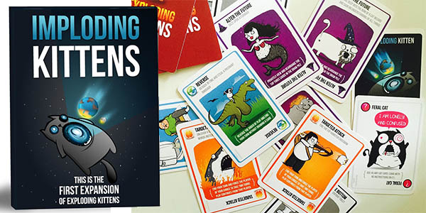 imploding kittens primera extension juego exploding kittens