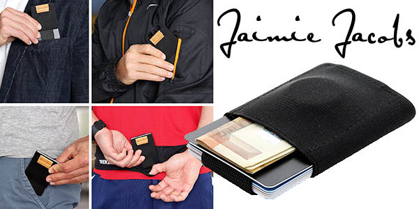 jaimie jacobs cartera minimalista nano boy funcional de diseño compacto