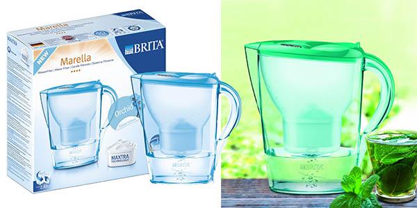 jarra brita agua sin cloro ni cal tamaño grande