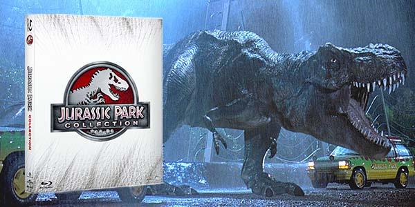 Jurassic Park Colección Blu-ray
