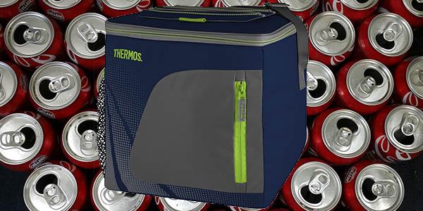 mochila termica mantener latas y botellas frescas
