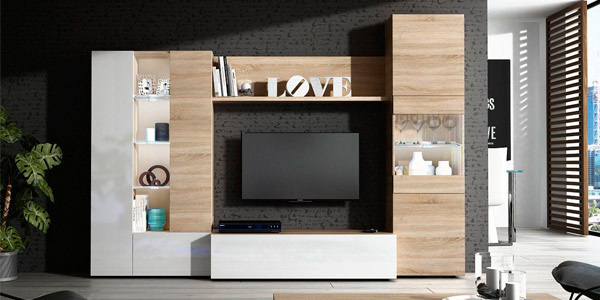 mueble salon comedor duehome-led