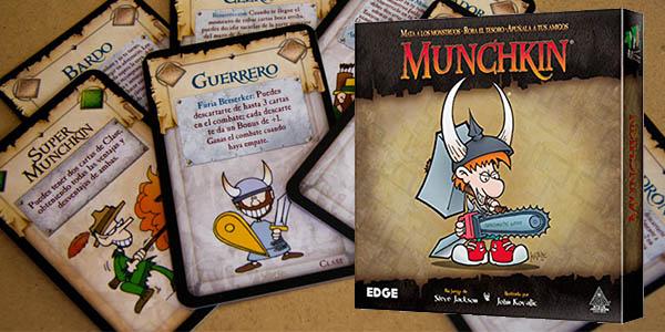 munchkin juego cartas rol divertido barato