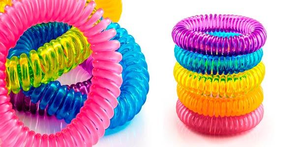 pack 10 pulseras repelentes impermeables adultos ninos