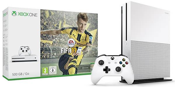 Pack Xbox One S de 500 GB + FIFA 17