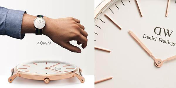 reloj para hombre daniel wellington 0105DW correa nylon