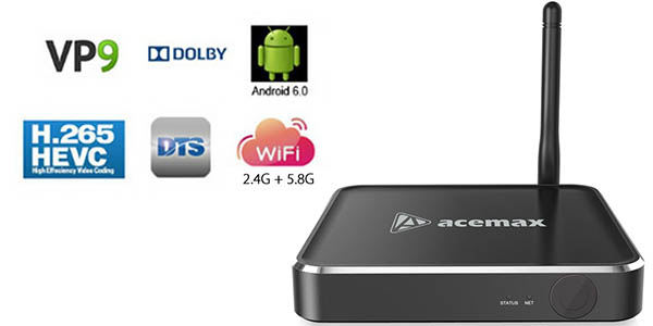 Reproductor Android ACEMAX M12N