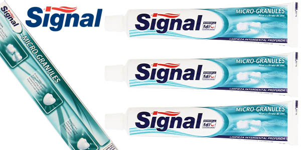 signal micro-granules pack 3 unidades 75 ml barato
