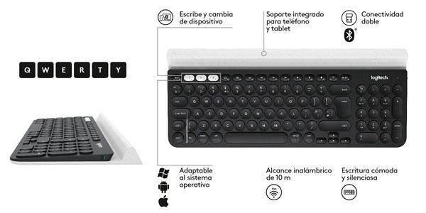 teclado logitech k780 caracteristicas