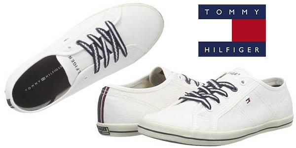 tommy hilfiger victoria 2d sneakers de lona baratas