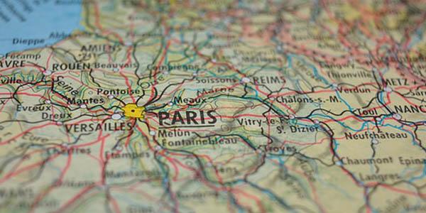 viaje paris mapa