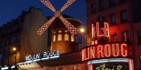 viaje paris septiembre moulin rouge