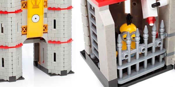 Minions aventura en el castillo mega blocks juguete amazon