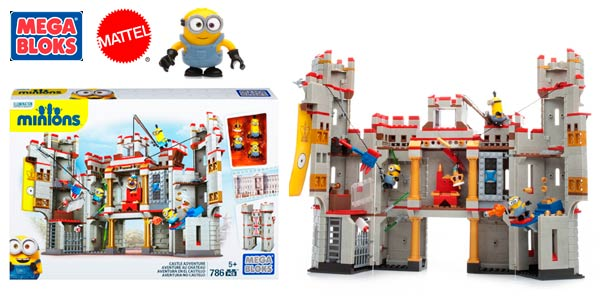 Minions aventura en el castillo mega blocks juguete