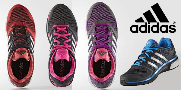 Chollo zapatillas de running Adidas Questar Boost para