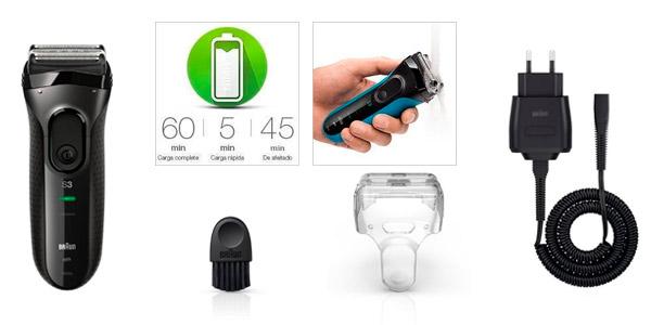 afeitadora braun series 3 3000s amazon