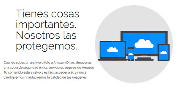 Copias de seguridad Amazon Drive