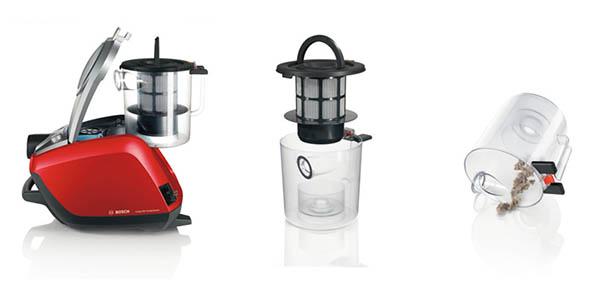 Aspirador con filtro Hepa H14