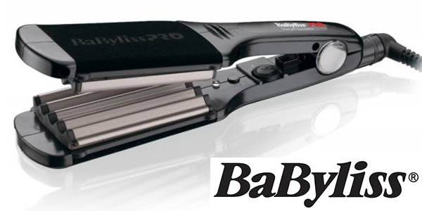 babyliss pro plancha onduladora titanio barata