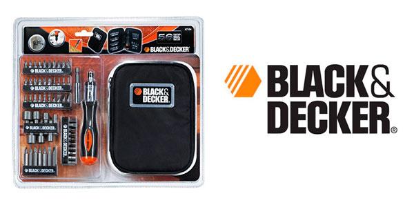 Kit de 56 piezas atornillador de Black and Decker A7104-XJ