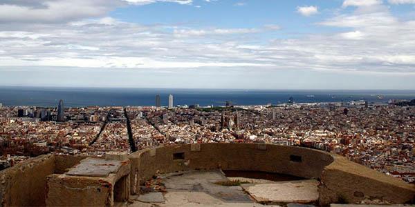 búnkers antiaéreos Carmelo Barcelona