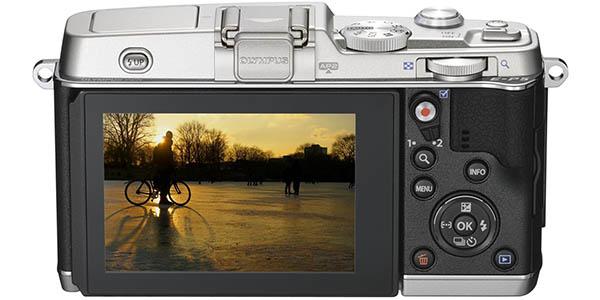 Olympus PEN E-P5 con pantalla táctil