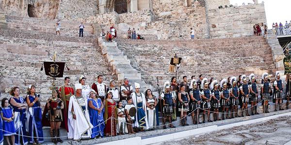 Cartaginenses y Romanos fiesta Cartagena alojamientos baratos