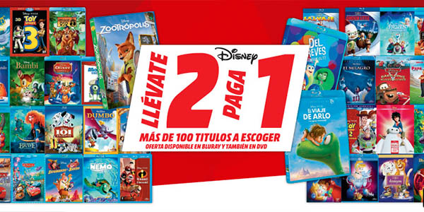 2x1 Blu-ray Disney