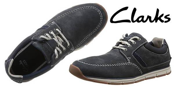 clarks beachmont edge zapatos casual hombre baratos