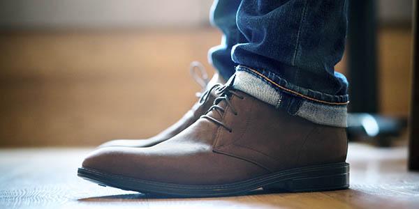 clarks chilver hi gtx botas comodas
