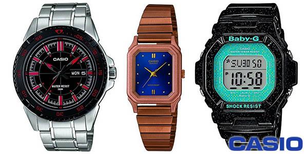 Relojes Casio baratos en Amazon