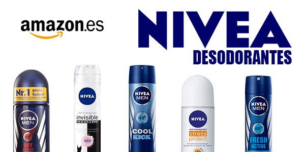 desodorantes nivea oferta amazon españa