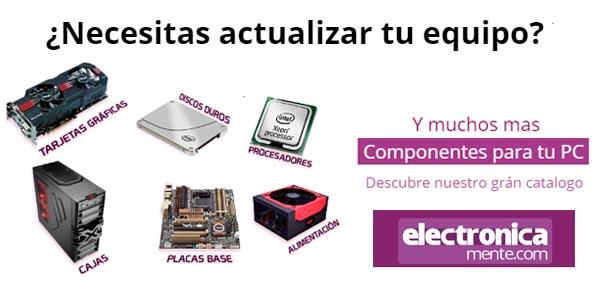 electronicamente componentes pc sin intereses
