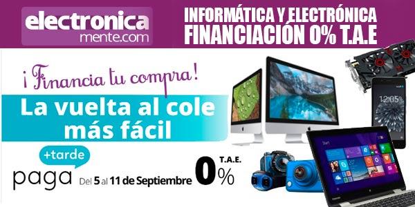 electronicamente financiacion 0 tae electronica informatica