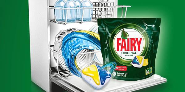 Pack Fairy Todo en uno para el lavavajillas