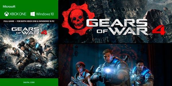 Gears Of War 4 para Xbox One en descarga digital