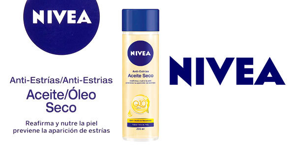 Aceite corporal Nivea Q10 anti-estrias