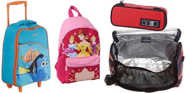 ofertas mochilas escolares curso 2016-17