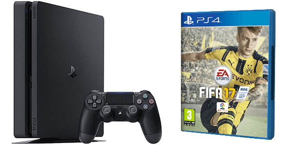 Pack PS4 Slim 1TB + FIFA 17